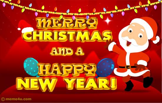 !Merry Christmas & Happy New Year!